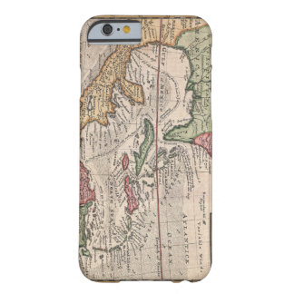 Antique Florida and Caribbean Map Barely There iPhone 6 Case