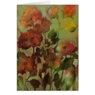 Antique Flowers • Michelle Abrams - card