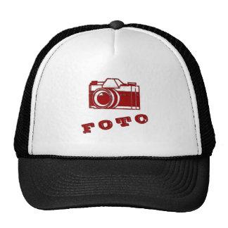 Antique Foto Graphic Hats