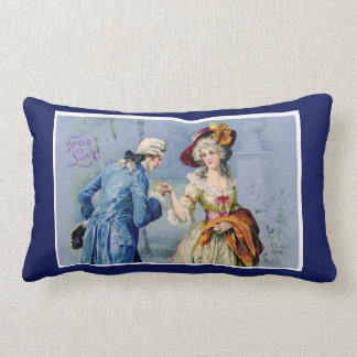 Antique French True Love Pillow