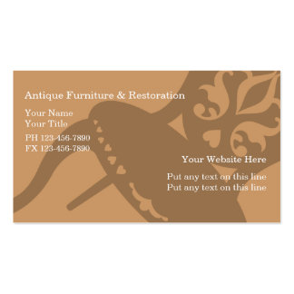 Antique Furniture Business Cards