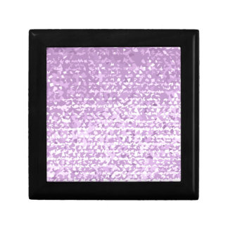 Antique Fuschia Camo Abstract Low Polygon Backgrou Small Square Gift Box