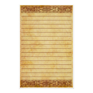 Antique Garden Stationery