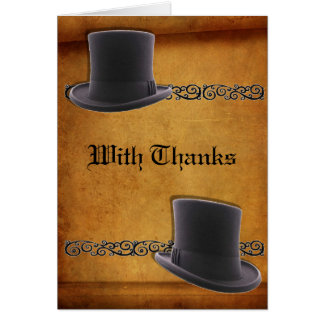 Antique Gay Wedding Custom Thank You Cards