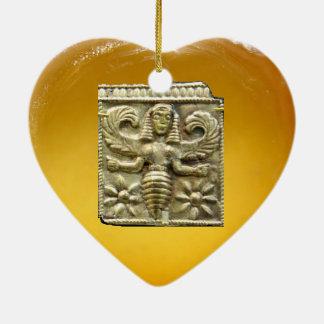 ANTIQUE GREEK HONEY BEE GODDESS CHRISTMAS ORNAMENTS