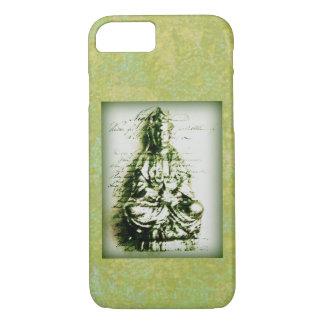 Antique Green Kwan Yin iPhone 8/7 Case