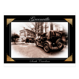 antique greenville post card