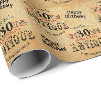Antique Grunge Birthday | 30th Birthday