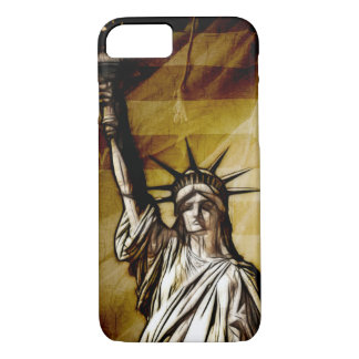 Antique grunge patriotism iPhone 7 case