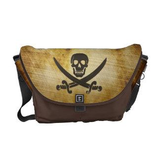 Antique Grunge Pirate Messenger Bag