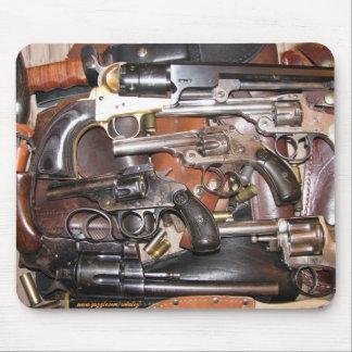 Antique guns mousepad