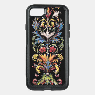 Antique Illuminated Floral Art iPhone7 OtterBox OtterBox Commuter iPhone 8/7 Case