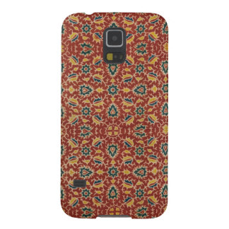 Antique India Floral Textile Phone Case