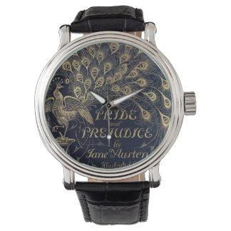 Antique Jane Austen Pride and Prejudice Peacock Wrist Watches