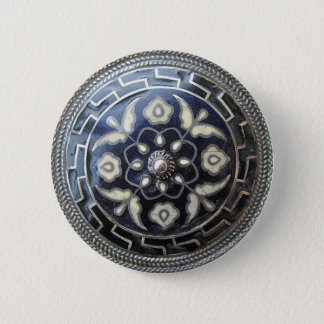 Antique Jewelry - Flower Pin/ Brooch button