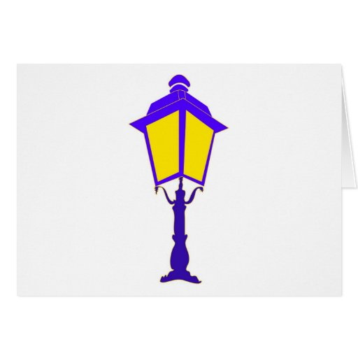 Antique lantern illuminates the darkness greeting cards