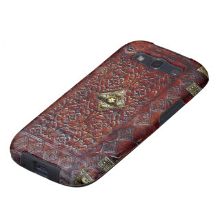Antique Leather Book Bibliophile Samsung Galaxy S3 Case
