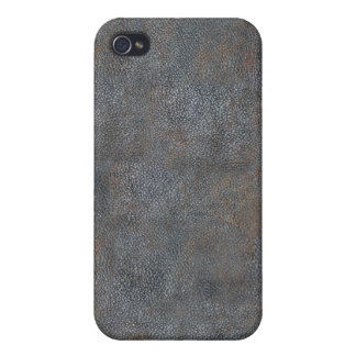 Antique Leather Book Cover Distressed and Worn iPhone 4 Case