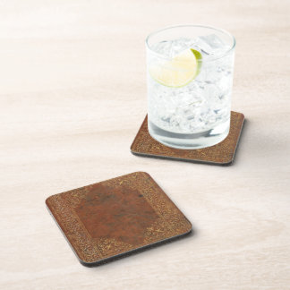 Antique Leather look Coaster