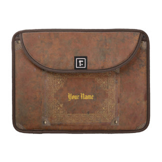 Antique Leather look Sleeve For MacBook Pro