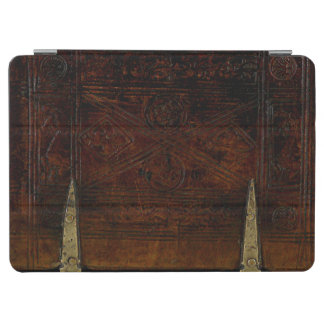 Antique Leather With Brass Locks iPad Air Cover