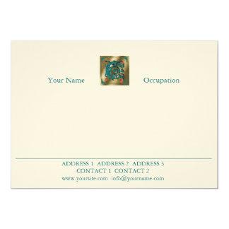 Antique Letter C - Correspondence Card