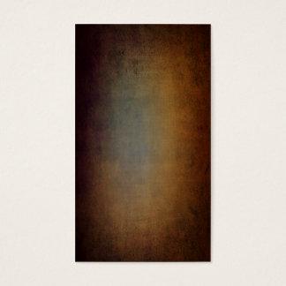 Antique linen with dark vignette texture business card