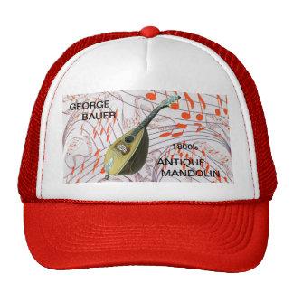 ANTIQUE MANDOLIN-HAT