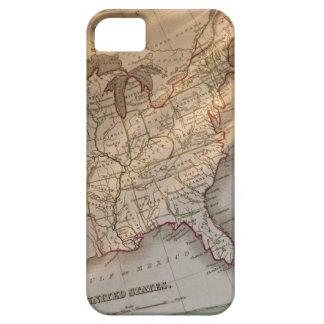 Antique map iPhone 5 cases