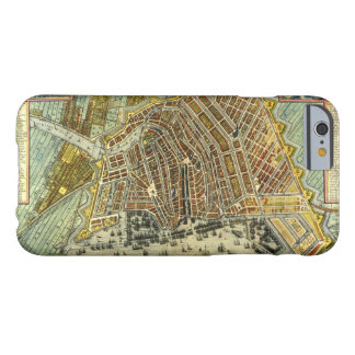 Antique Map of Amsterdam, Holland aka Netherlands Barely There iPhone 6 Case