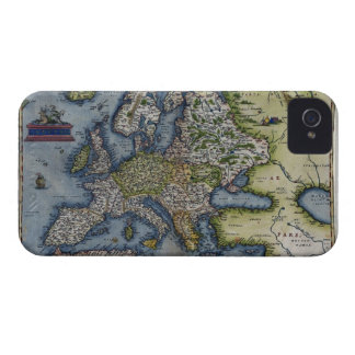 Antique Map of Europe iPhone 4 Covers