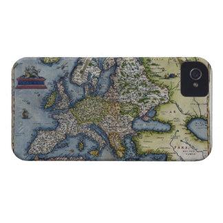 Antique Map of Europe Case-Mate Blackberry Case