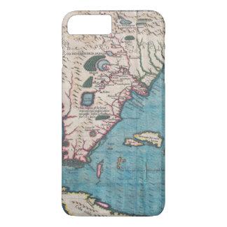 Antique Map of Florida and Cuba iPhone 8 Plus/7 Plus Case