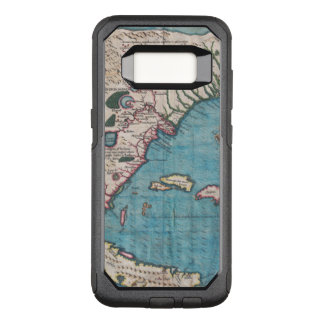 Antique Map of Florida and Cuba OtterBox Commuter Samsung Galaxy S8 Case