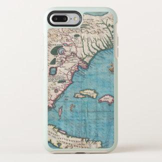 Antique Map of Florida and Cuba OtterBox Symmetry iPhone 8 Plus/7 Plus Case
