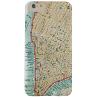 Antique Map of Lower Manhattan and Central Park Barely There iPhone 6 Plus Case