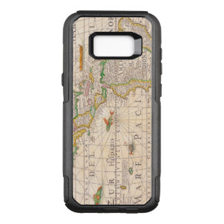 Antique Map of the Americas Circa 1652 OtterBox Commuter Samsung Galaxy S8+ Case