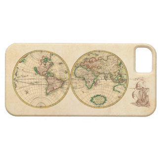 Antique Map of the World iPhone 5 Cover
