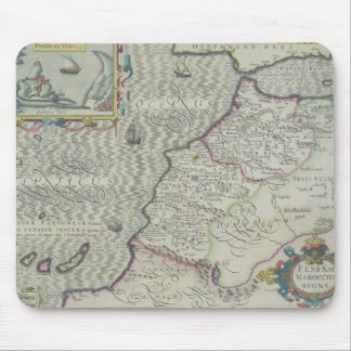 Antique Map of West Africa Mouse Pads