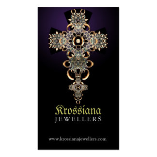 Antique Mediaeval Jewellery Business Card