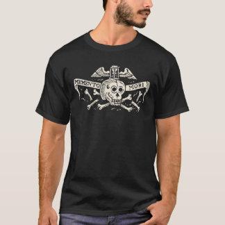 Antique Memento Mori Skull Shirt