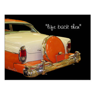 Antique Merc Car Postcard-customize it Postcard