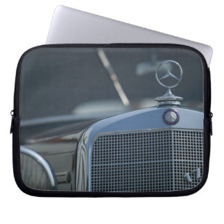 antique mercedes 4 computer sleeves