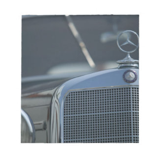 antique mercedes 4 notepads