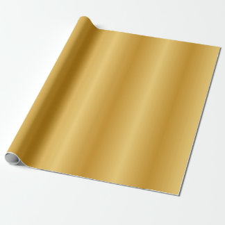 Antique Metallic Gold Wrapping Paper