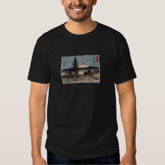 Antique Mt. Fuji Painting c. 1800s Japan Tee Shirt
