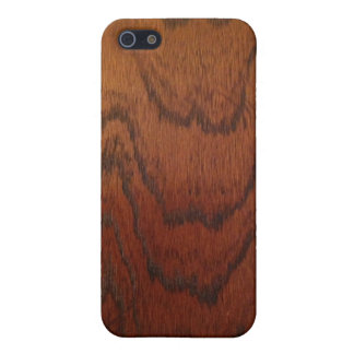Antique Natural Wood Grain Cover For iPhone 5/5S