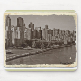 Antique New York Mouse Pad