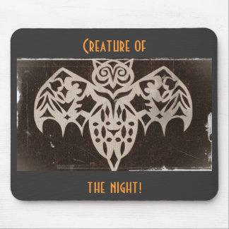 Antique Night Creature Mouse Pad