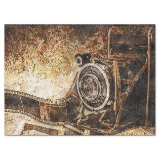 Antique Old Photo Camera Tissue Paper